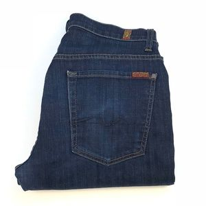 7 For All MankindMens Relaxed Straight Jeans | 31